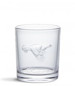 CRYSTAL TUMBLER - FLYING GROUSE