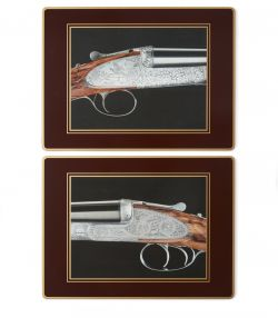 Traditional Placemats With Gun Images