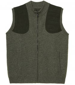 Mens Knitted Shooting Gilet
