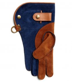 Double Layer Falconry Glove With Knife Pocket