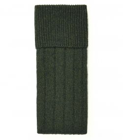Ladies Long Shooting Sock - Forest Green