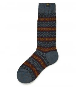 Mens Short Pattern Socks