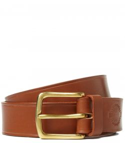 English Bridle Leather Belt - London Tan