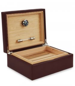 Audley Leather Desk Humidor