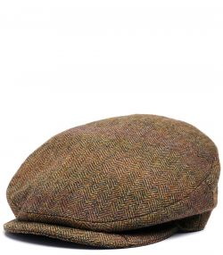 Hemsley Long Peak Tweed Cap - Beatrice