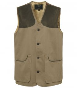 Mens Francolin Button Shooting Vest