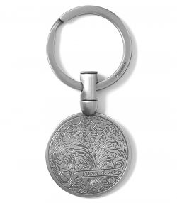 Gun Scroll Keyring
