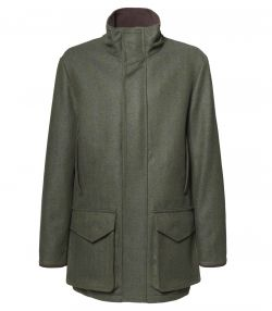 Mens Tweed Field Coat - Glenwherry