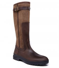 Mens Le Chameau Jameson Leather Boot - Brown