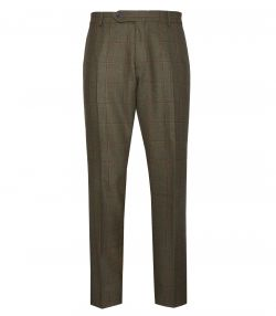 Mens Technical Tweed Trousers - Lawrence