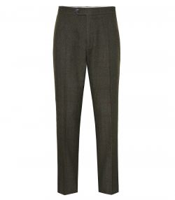 Mens Cashmere Tweed Trousers