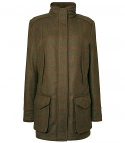 Ladies Technical Tweed Field Coat