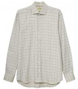 Mens Exploded Colour Tattersall Shirt