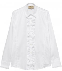 Ladies Ruffled Shirt