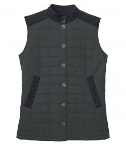 Ladies Studland Quilted Gilet - Navy
