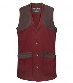 Mens Sporting Vest - Audley Red