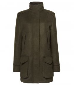 LADIES LODEN FIELD COAT
