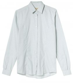 LADIES TATTERSALL COTTON/WOOL SHIRT