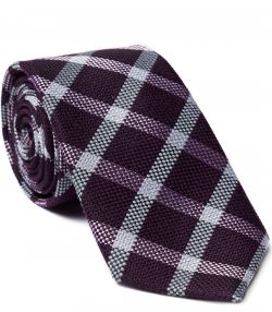 TOM PURDEY LARGE CHECK TIE