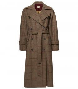 LADIES TWEED TRENCH COAT