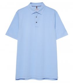 Mens Berkshire Polo Shirt - Cornflower Blue