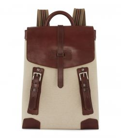 The 18L Backpack With Blanket Carrier - Sand