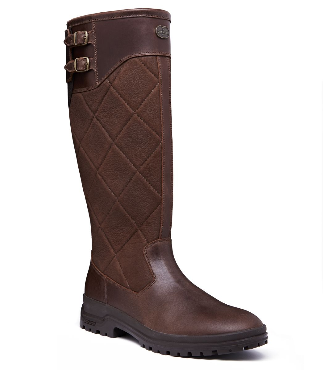Ladies Le Chameau Jameson Quilted Boot