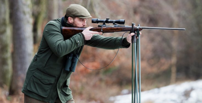 Purdey Bolt Action Rifle, Snipe coat
