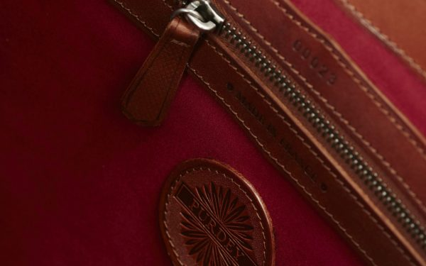 Register your Purdey leather