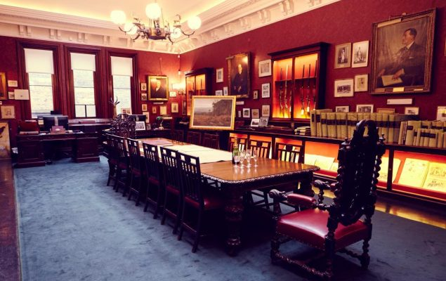 The Long Room of Audley House