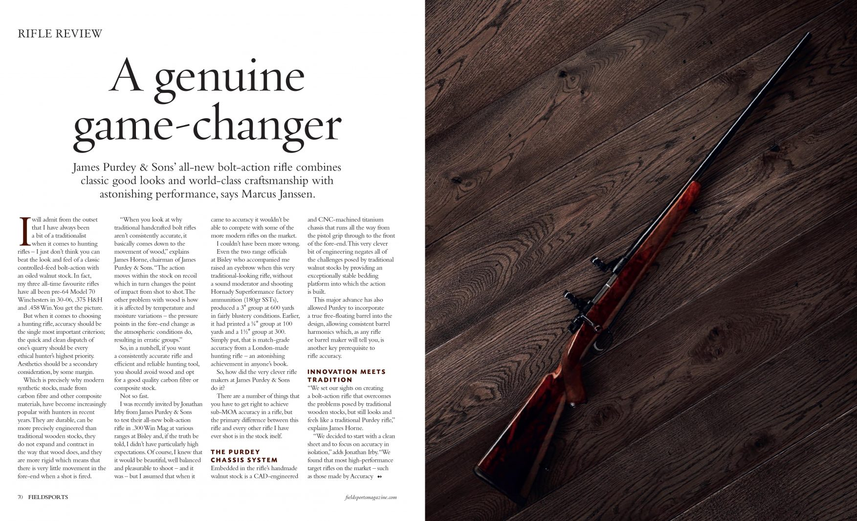 The New Bolt-Action Rifle | Purdey & Sons