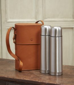 Side-by-Side Thermos Set