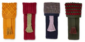 Purdey hand knitted socks