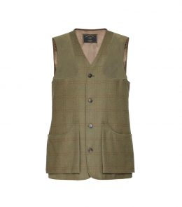 Mens Technical Tweed Shooting Vest