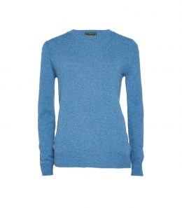 Ladies Crew Neck Cashmere Sweater