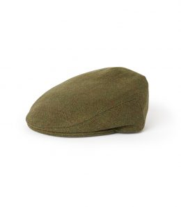 Purdey Short Peak Waterproof Tweed Cap