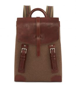 The 18L Backpack with Blanket Carrier - Walnut