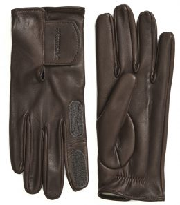 Ladies Cape Leather Shooting Glove - Velcro Cuff