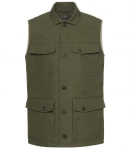 Mens Percival Safari Vest