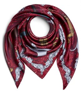 Craftsmanship Silk Scarf - Sale
