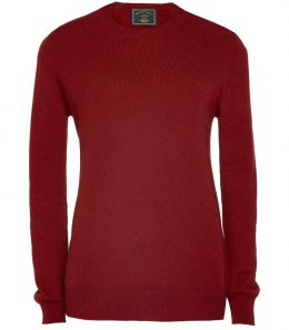 Ladies Crew Neck Cashmere Sweater - Sale