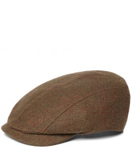 Linten Long Peak Tweed Cap
