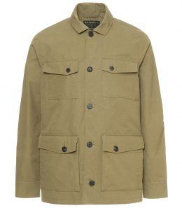 Mens Percival Safari Jacket