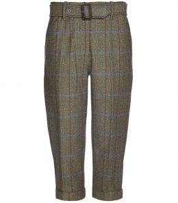 Ladies High Waisted Tweed Breeks