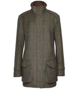 Ladies Tweed Field Coat