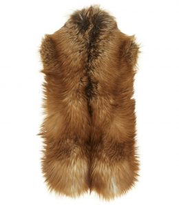 Ladies High Collar Fur Stole
