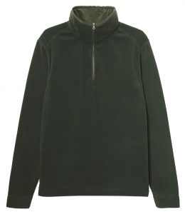 Mens Lightweight 1/4 Zip Fleece