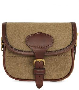 Canvas & Leather Cartridge Bag - 75C