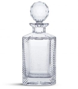 Gun Scroll Crystal Decanter