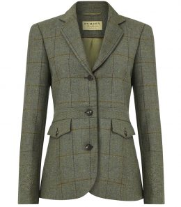 Ladies Tweed Panel Jacket
